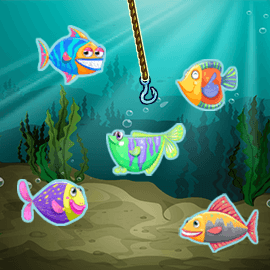 StartHomeゲームのLet's Go Fishing