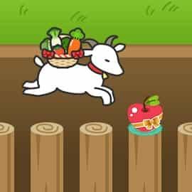 野菜をできるだけ遠くまで運ぼう!